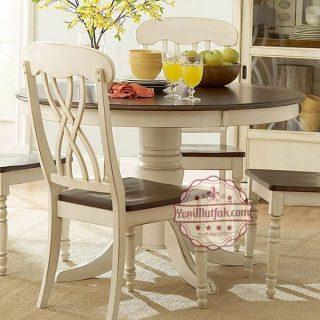 yuvarlak mutfak masasi